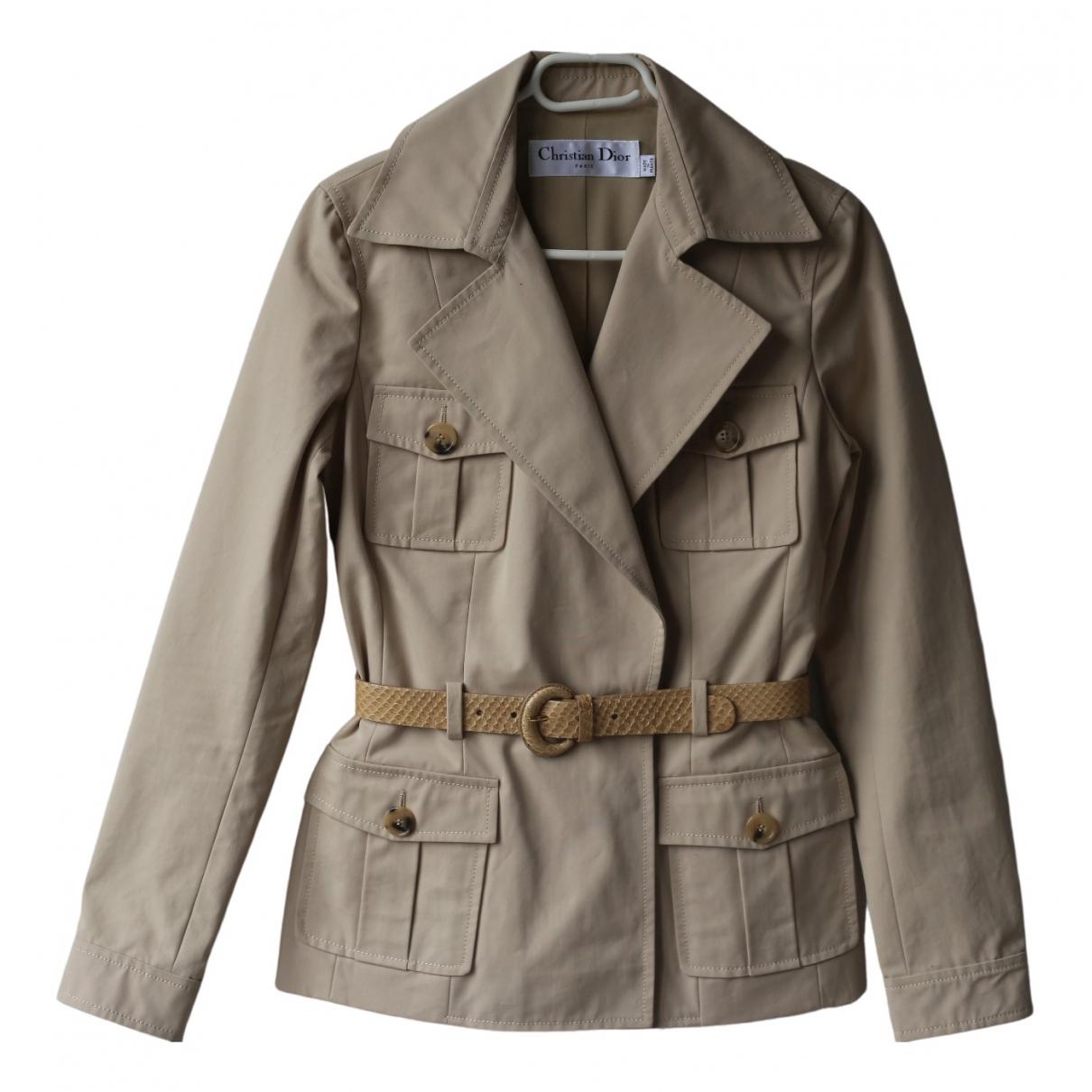 Dior \N Beige Cotton jacket for Women 36 FR