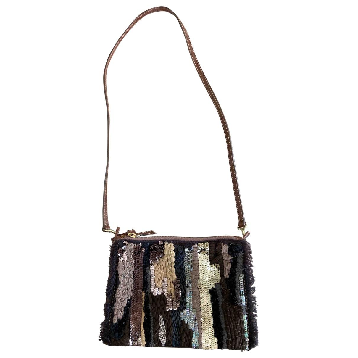 Maliparmi \N Brown Suede Clutch bag for Women \N