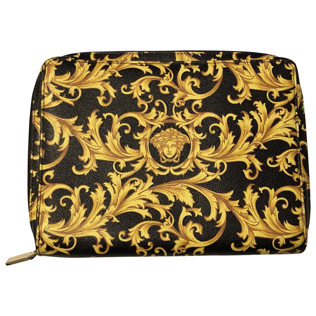 Versace \N Accessoires in  Gelb Leinen