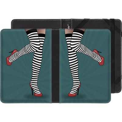 Pocketbook Touch Lux eBook Reader Huelle - Stripy Tights von Mark Ashkenazi