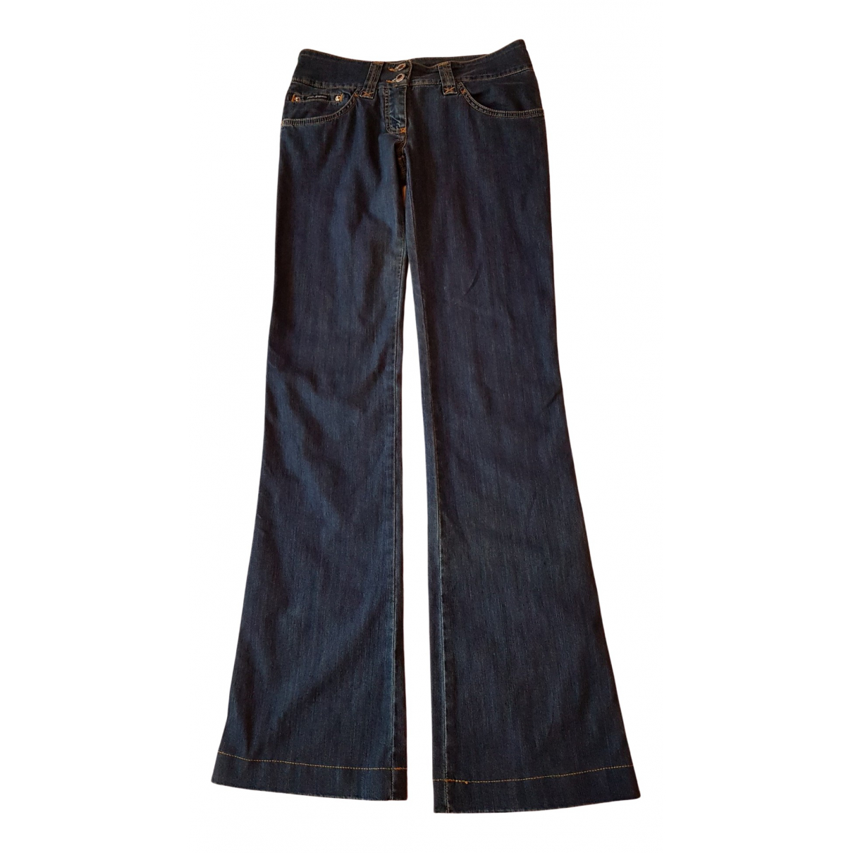Dolce & Gabbana \N Blue Cotton - elasthane Jeans for Women 34 FR