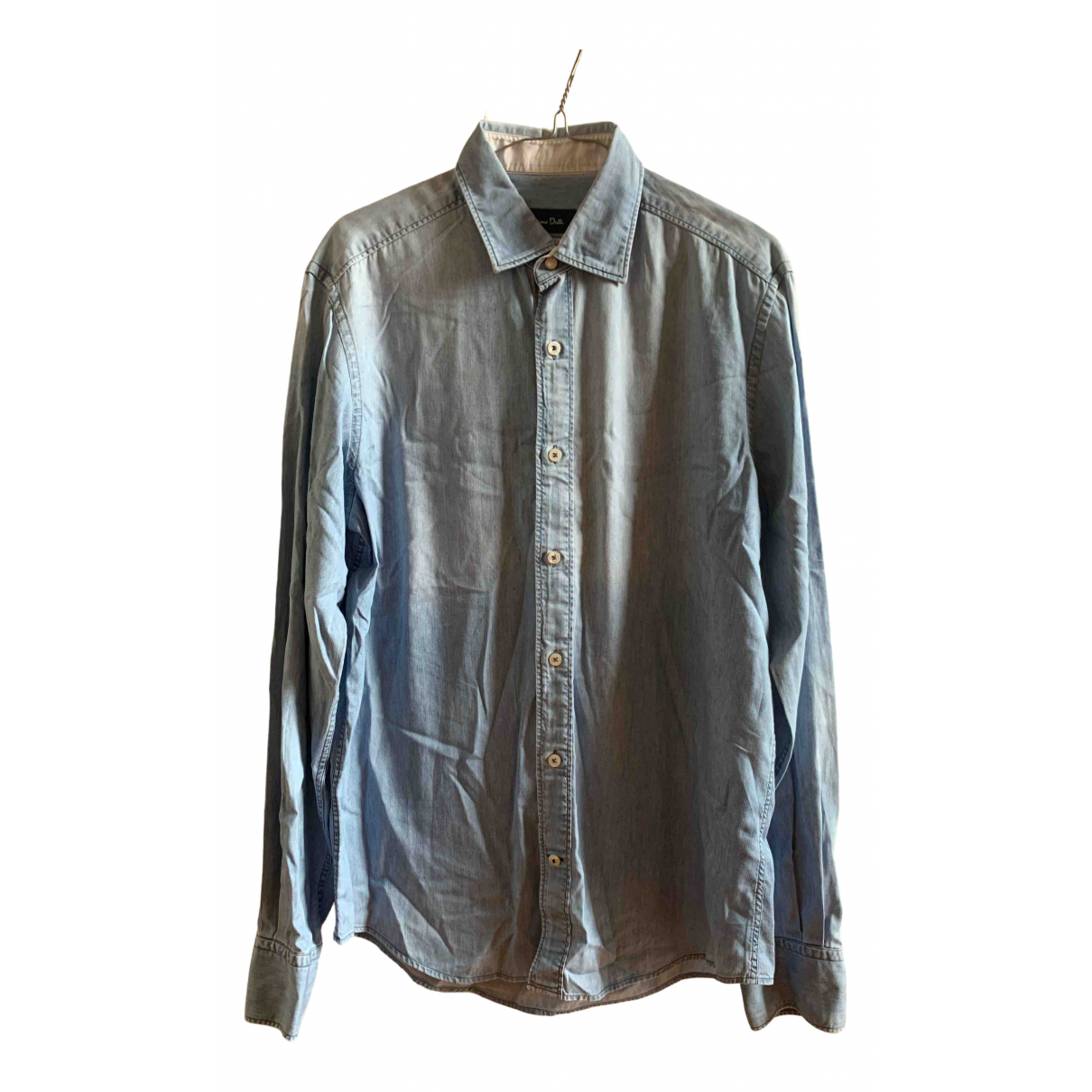 Massimo Dutti \N Hemden in  Blau Denim - Jeans