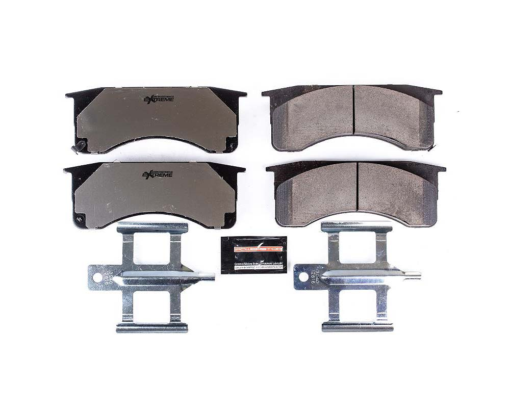 Power Stop Z36-1418 Z36 Truck & Tow Brake Pads w/Hardware Front or Rear Chevrolet C4500 Kodiak 2008-2009