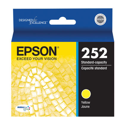 Epson 252 T252420 Original Yellow Ink Cartridge