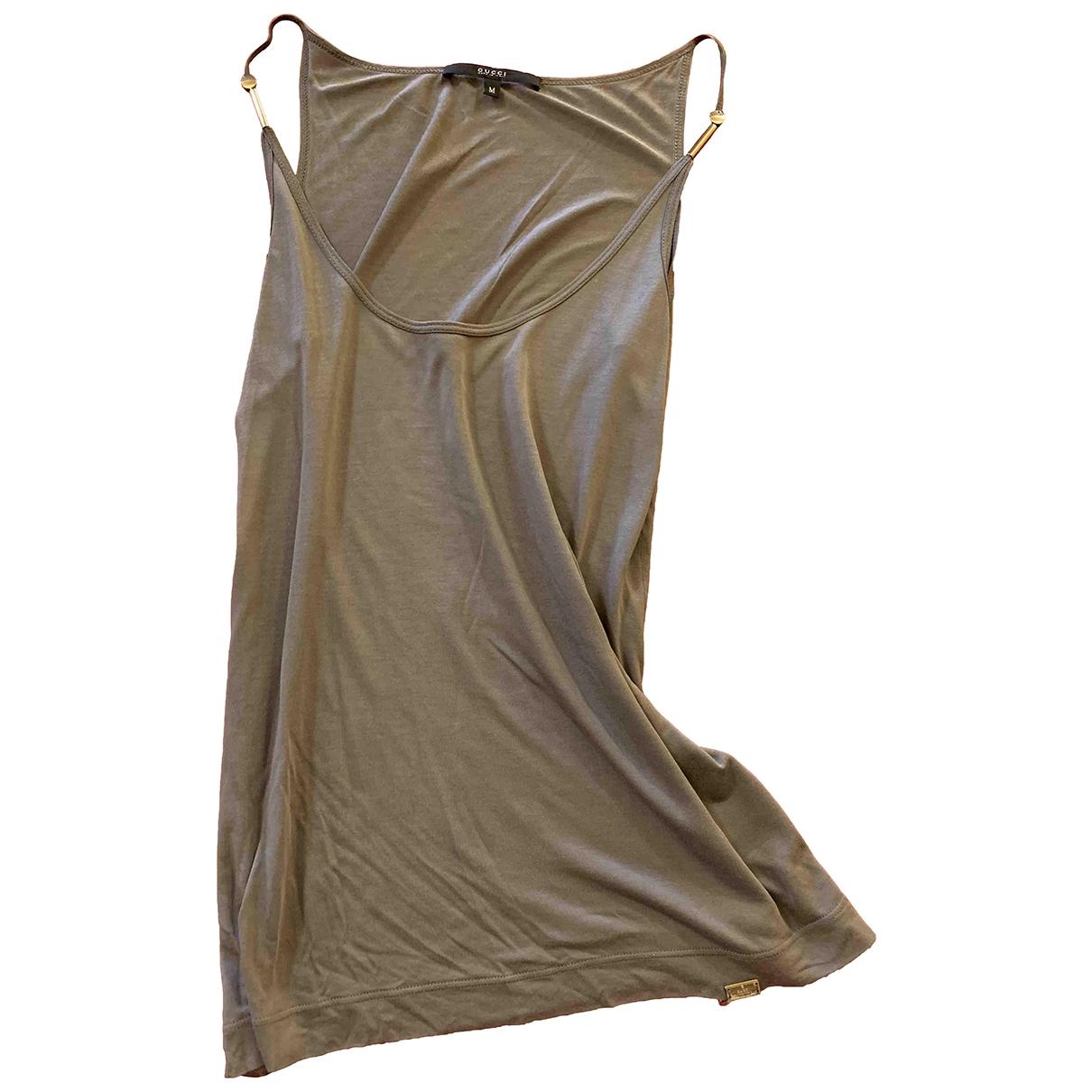 Gucci \N Grey Silk  top for Women M International