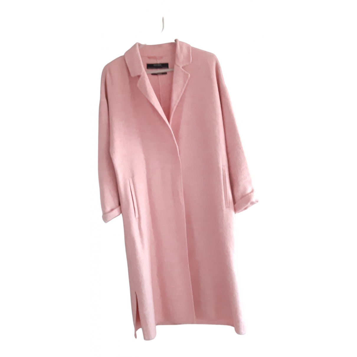 Zara \N Maentel in  Rosa Wolle