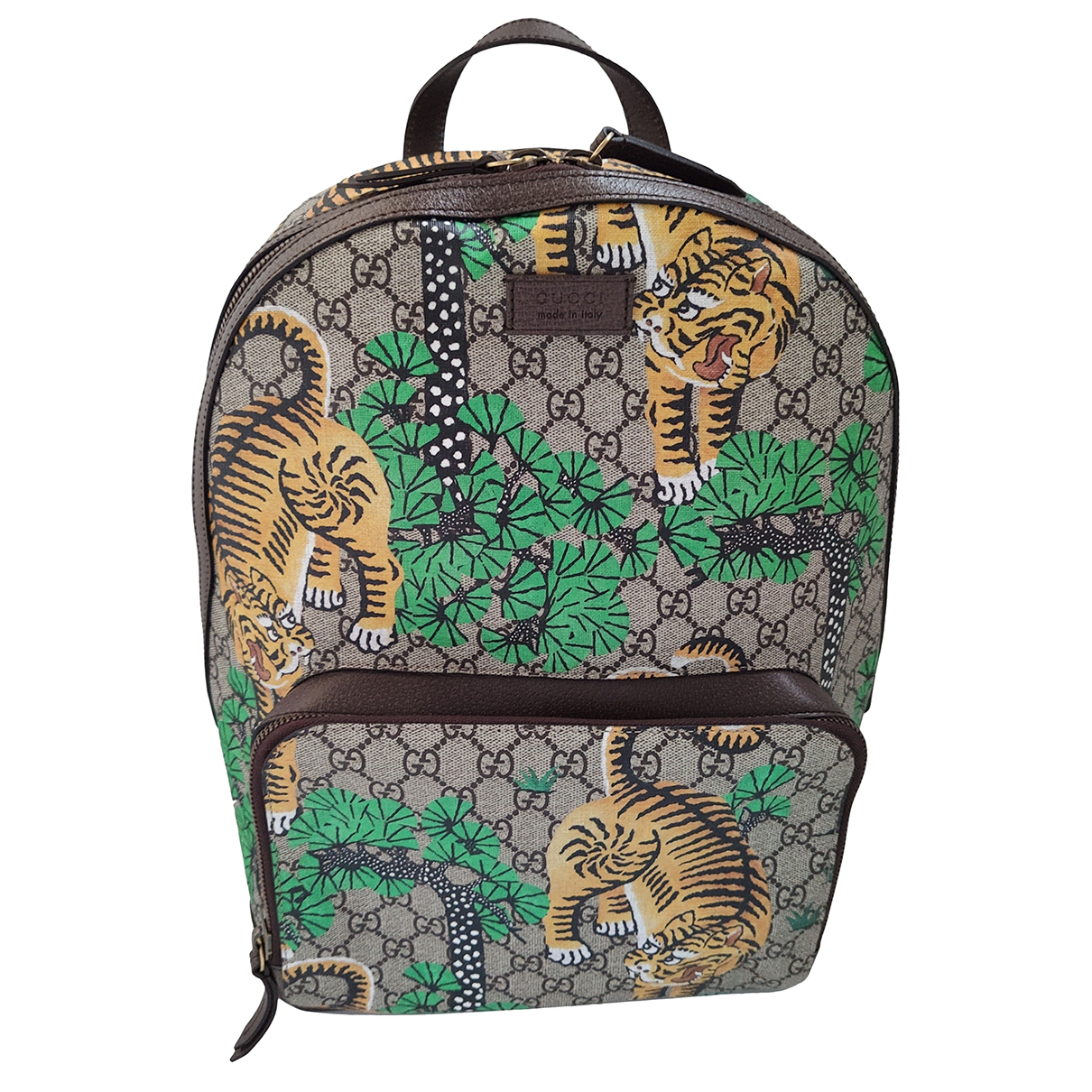 Gucci N Multicolour Leather backpack for Women N