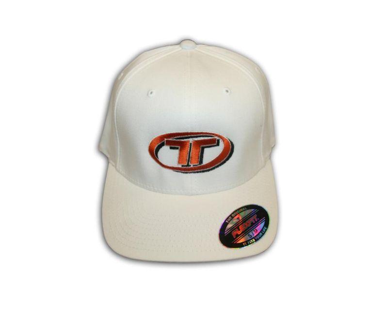 Titan Motorsports TMS ACC-HAT-LXLW Hat White L/XL