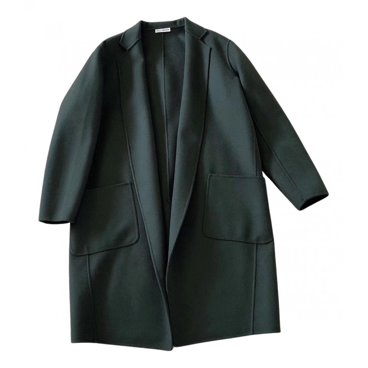 Ulla Johnson - Manteau   pour femme en laine - vert