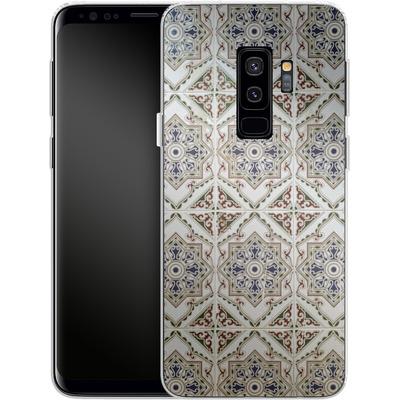 Samsung Galaxy S9 Plus Silikon Handyhuelle - White Tiles von Omid Scheybani
