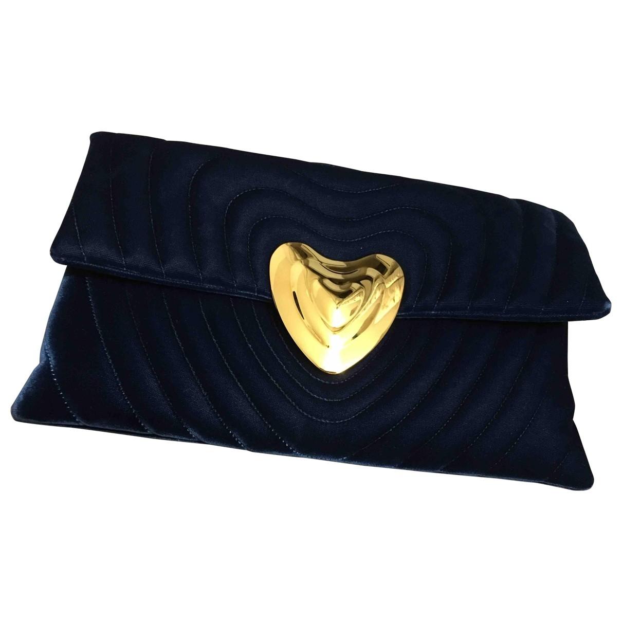 Pochette Heart bag de Terciopelo Escada