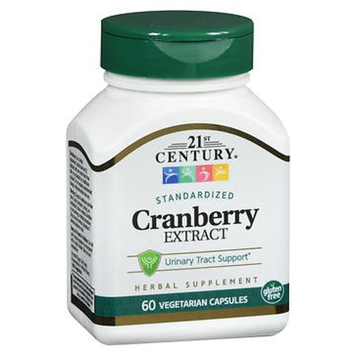 21st Century Standardized Cranberry Extract Vegetarian Capsules 60 Caps by 21st Century