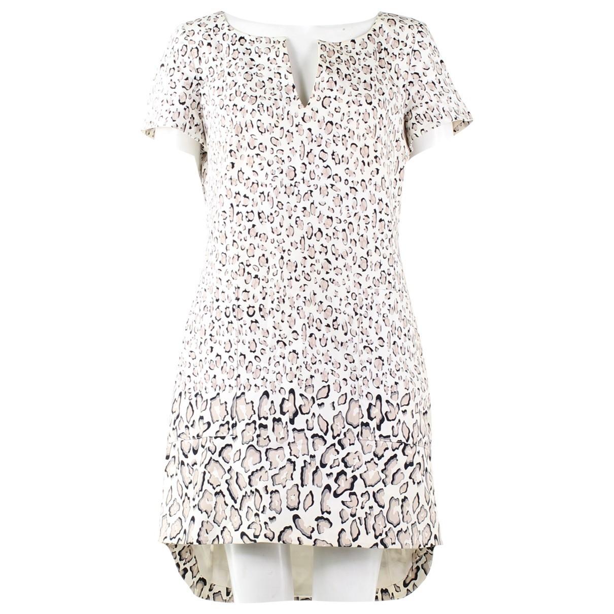 Karen Millen - Robe   pour femme en coton - multicolore
