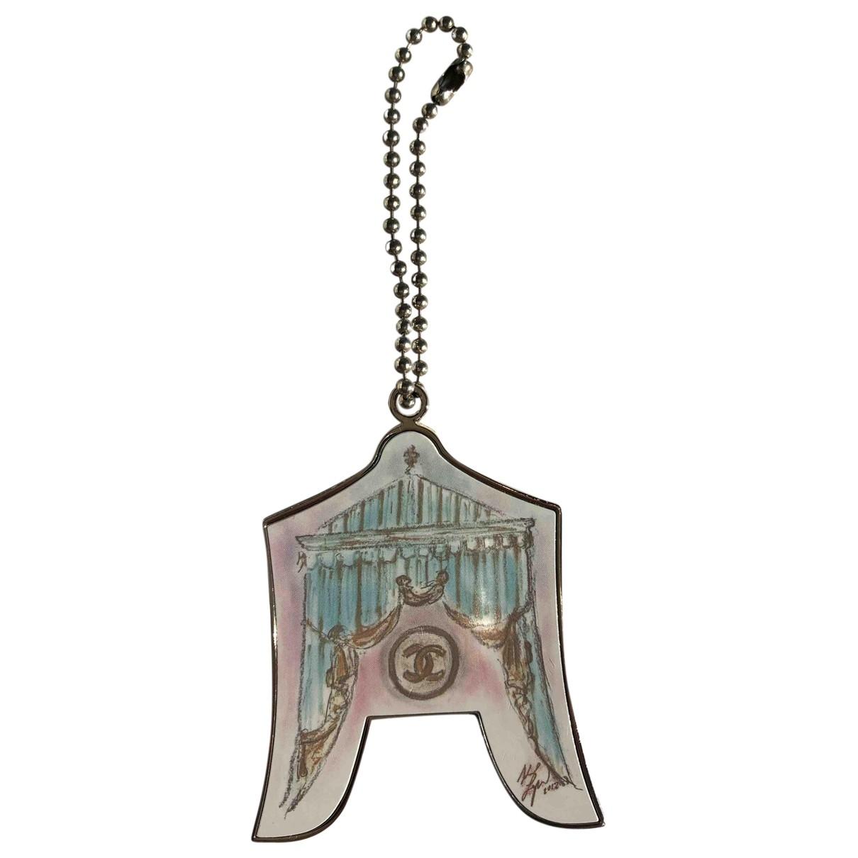 Chanel \N Taschenschmuck in  Metallic Metall