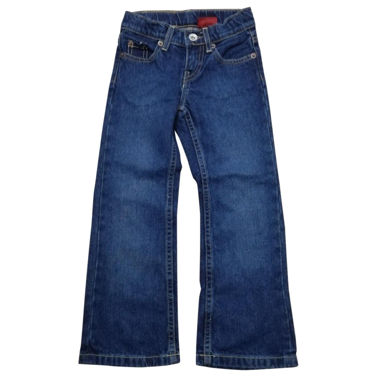 Levis - Pantalon   pour enfant en coton - bleu