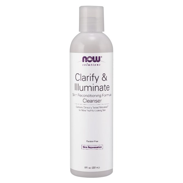 Clarify & Illuminate Cleanser 8 fl oz by Now Foods
