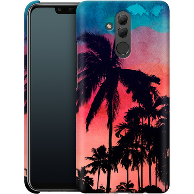 Huawei Mate 20 Lite Smartphone Huelle - Palm Trees at Sunset von Mark Ashkenazi