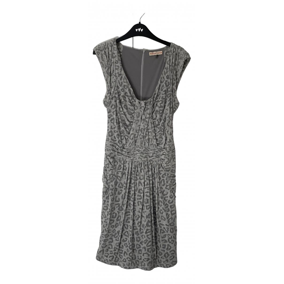 Rebecca Taylor \N Grey Cotton dress for Women M International