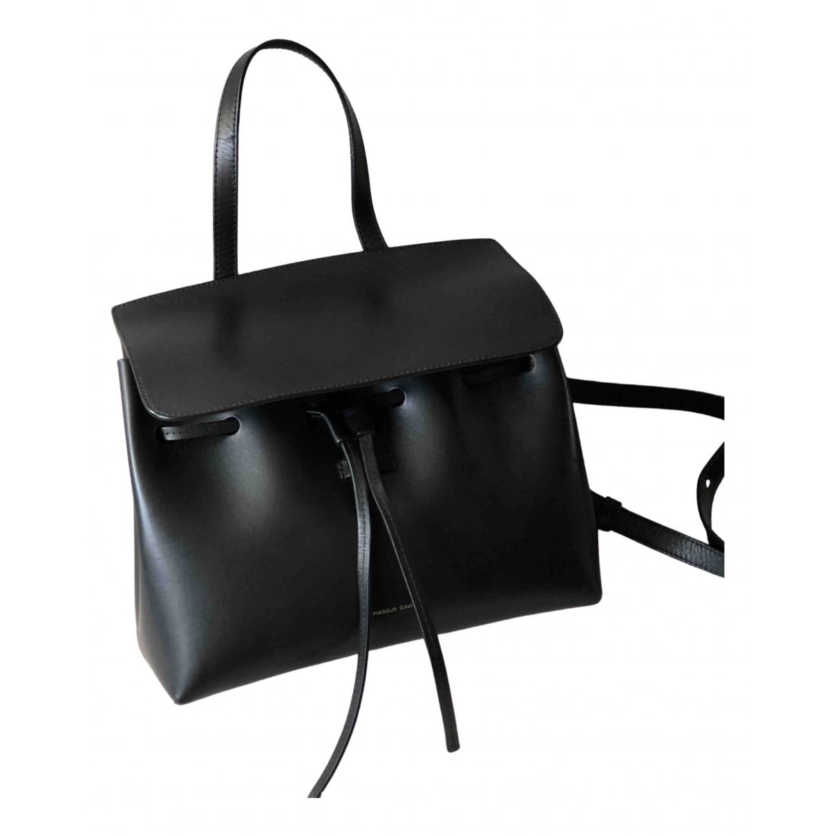 Mansur Gavriel Lady Black Leather handbag for Women N
