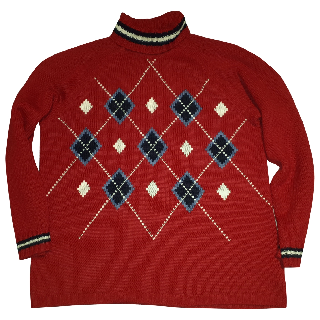 Tommy Hilfiger \N Pullover in  Rot Wolle