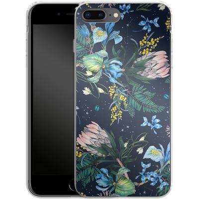 Apple iPhone 8 Plus Silikon Handyhuelle - Celest von Stephanie Breeze