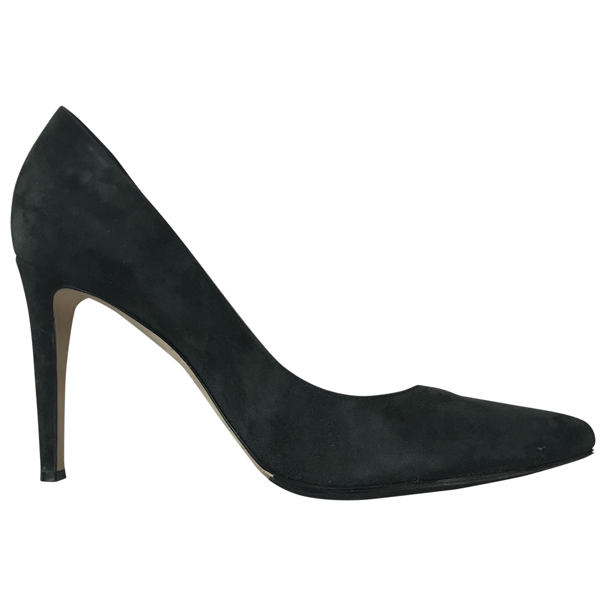 Sergio Rossi \N Anthracite Suede Heels for Women 39 EU