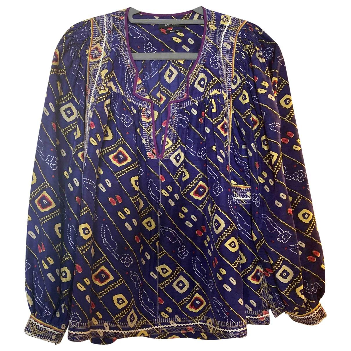 Isabel Marant - Top   pour femme en soie - violet