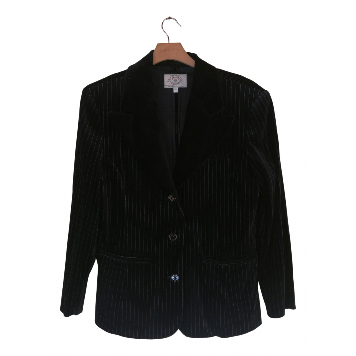 Armani Jean - Veste   pour femme en coton - noir