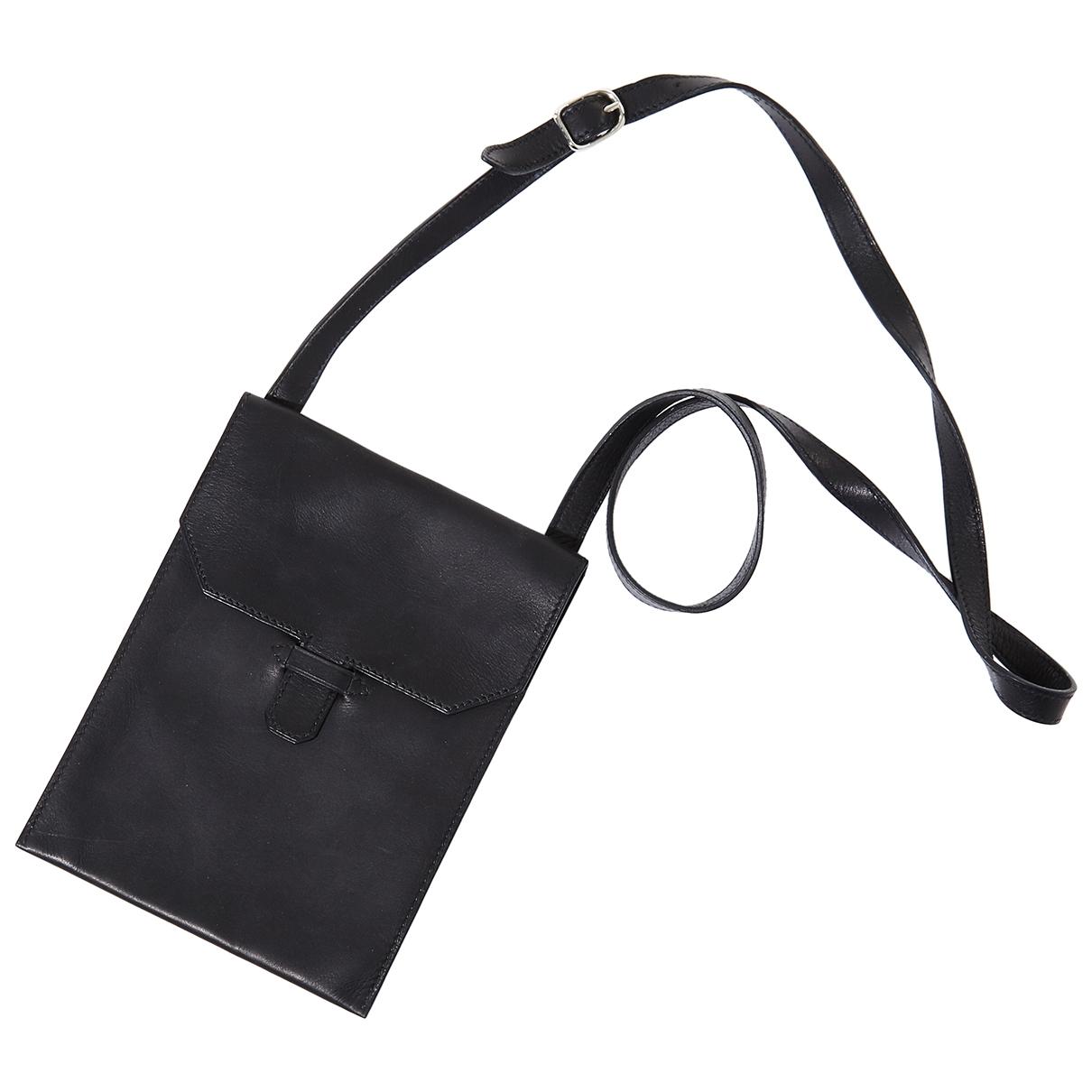 Hermes \N Reisetasche in  Schwarz Leder