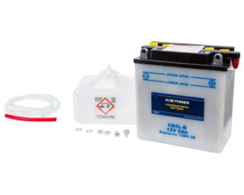 Fire Power Parts 490-2152 Battery W/Acid Cb5l-B 12v Heavy Duty 490-2152