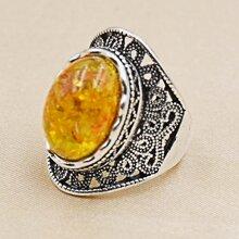 Maenner Ring mit hohlem Design