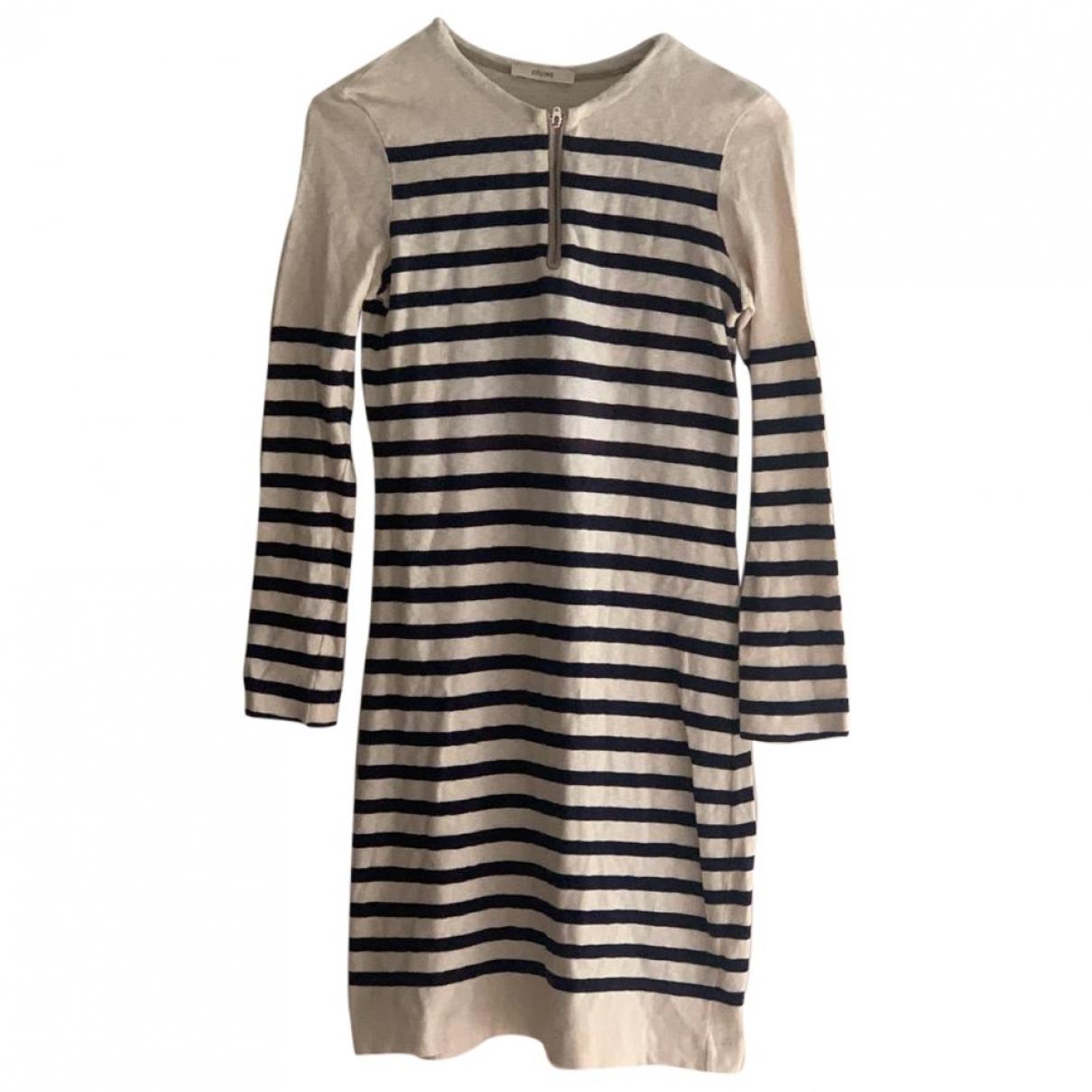Celine - Robe   pour femme en coton - multicolore