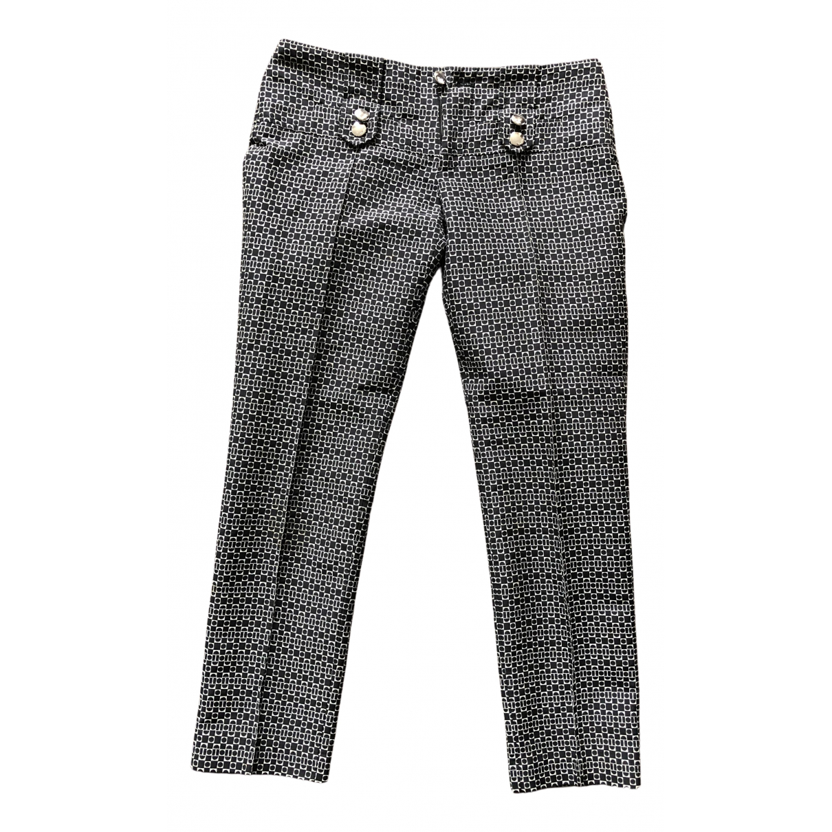 Gucci N Black Trousers for Women 40 FR