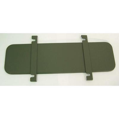 Omix-ADA Windshield Frame Ventilator Cover - 12023.06