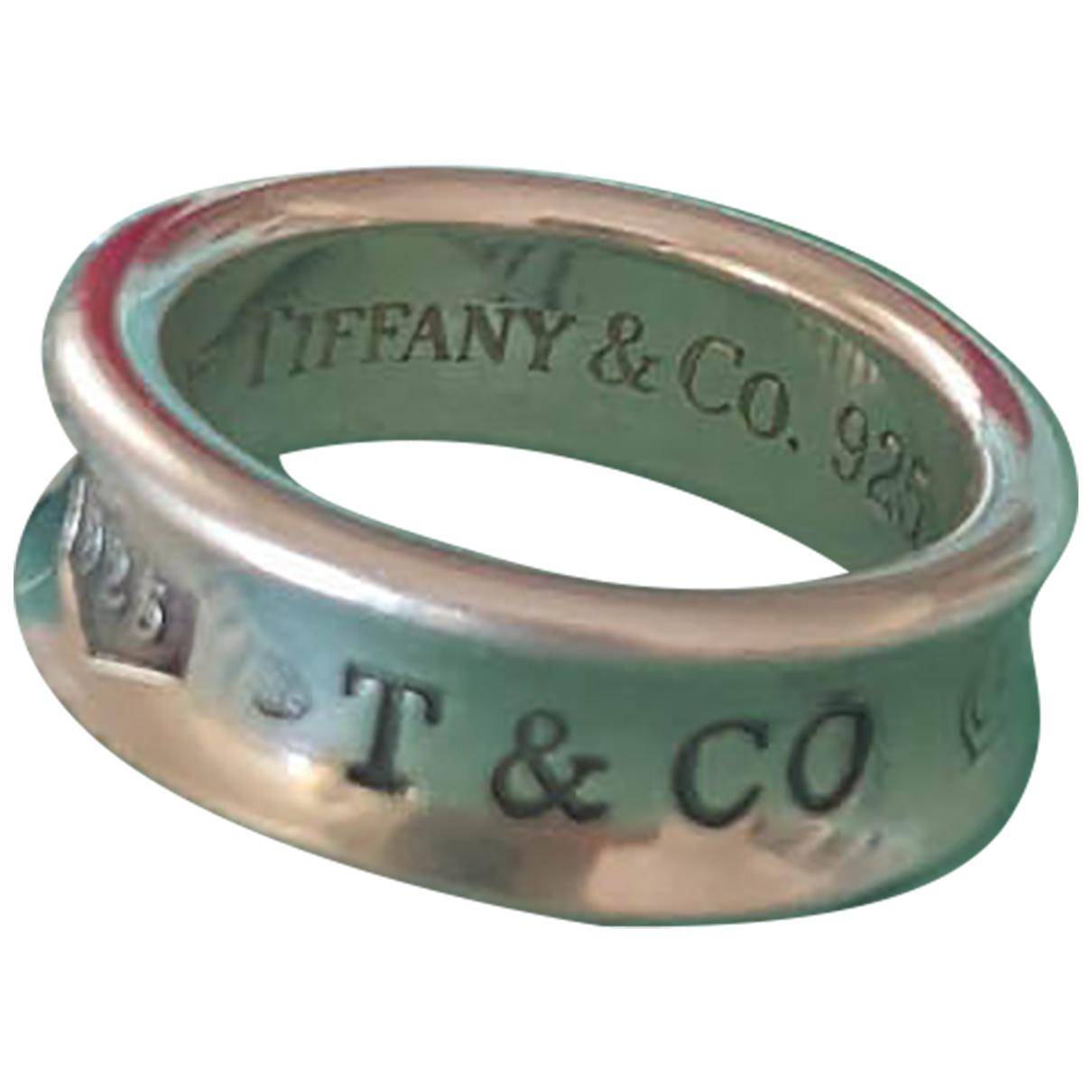 Tiffany & Co - Bague Tiffany 1837 pour femme en argent