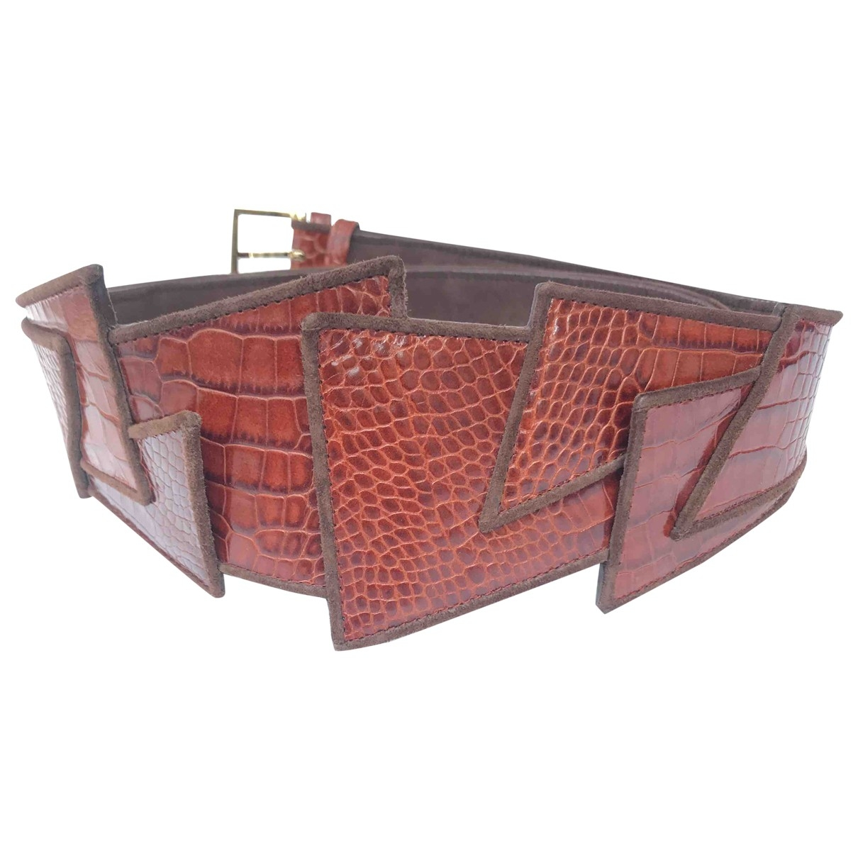 Lara Bohinc \N Brown Leather belt for Women 35 Inches