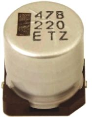 Rubycon 100μF Electrolytic Capacitor 35V dc, Surface Mount - 35TZV100M8X10.5 (5)