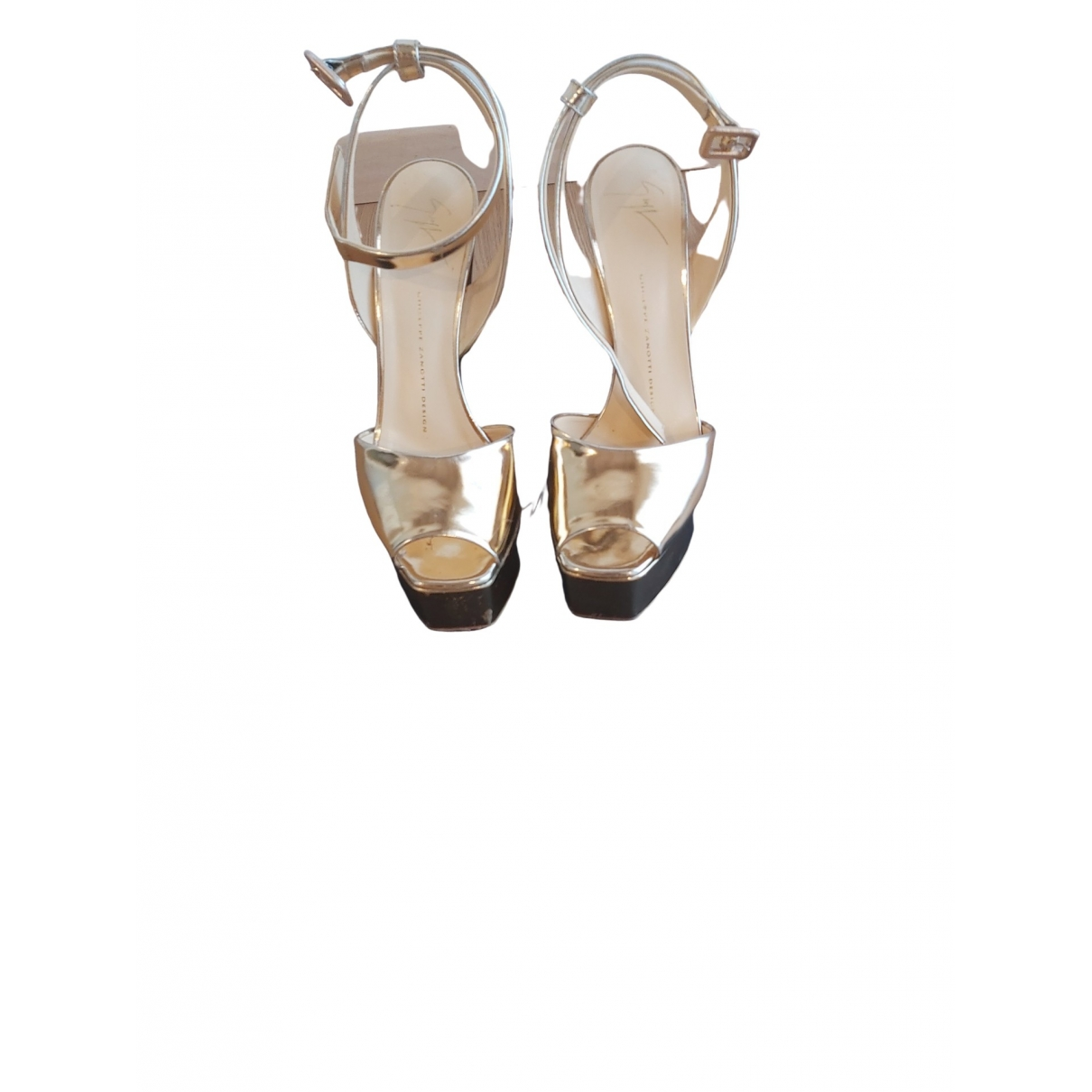 Sandalias de Cuero Giuseppe Zanotti