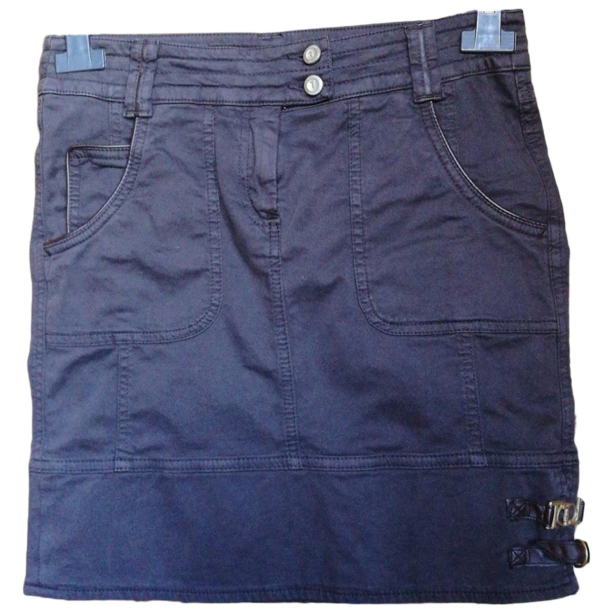 Trussardi Jeans \N Rocke in  Braun Baumwolle
