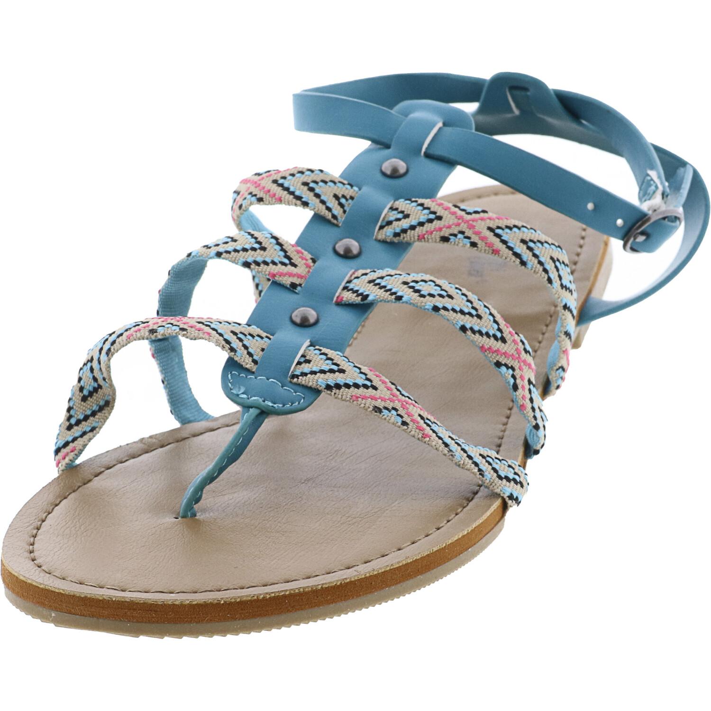 Western Chief Women's Jill Teal Ankle-High Sandal - 9M