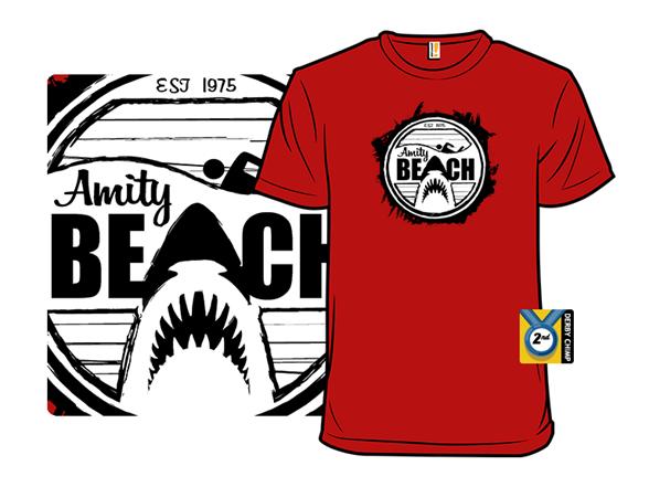 Amity Beach T Shirt