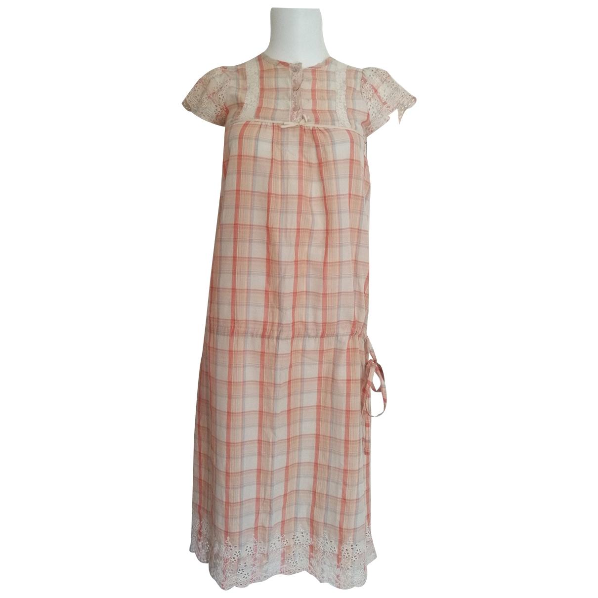 Gat Rimon - Robe   pour femme en coton - orange