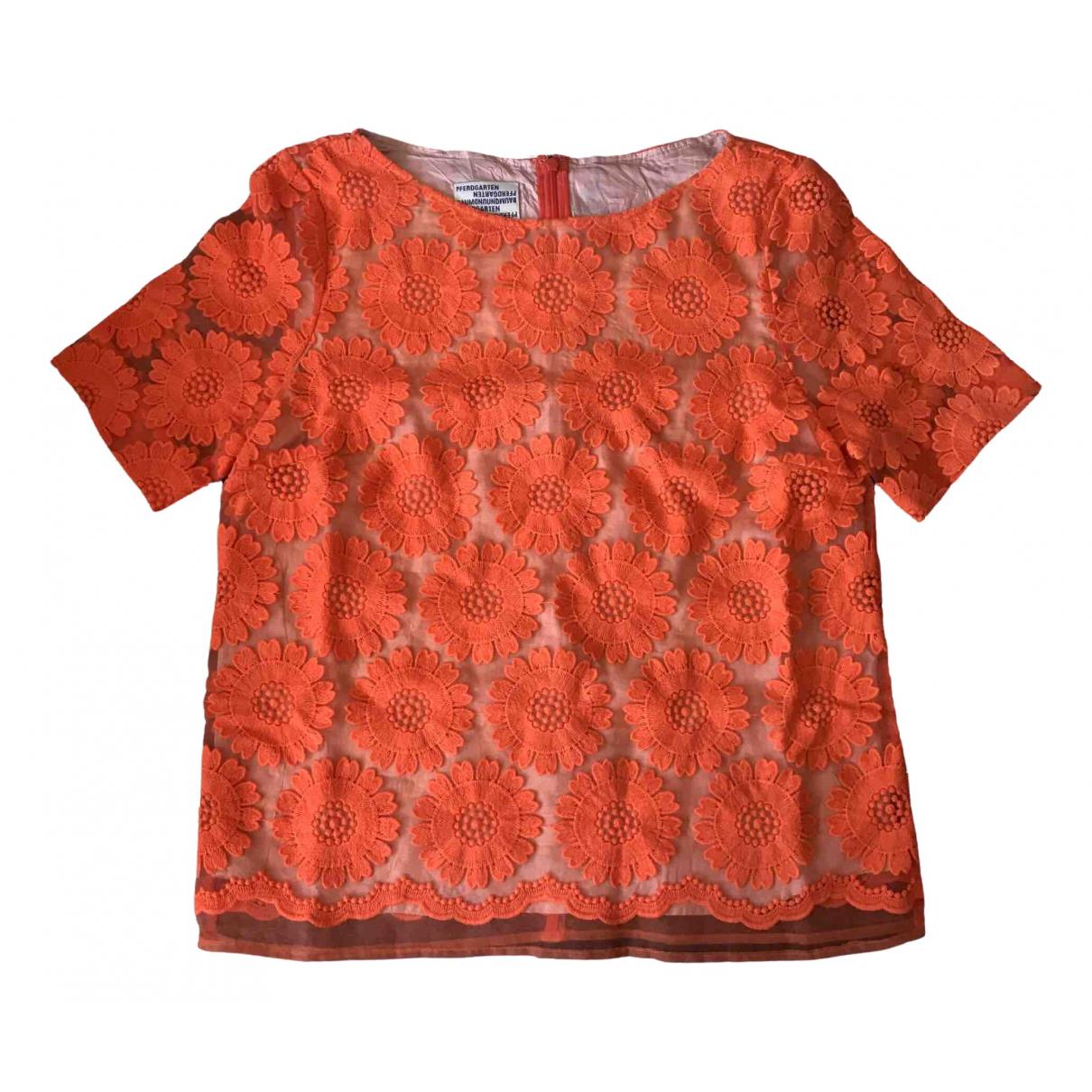 Baum Und Pferdgarten \N Orange  top for Women 38 FR