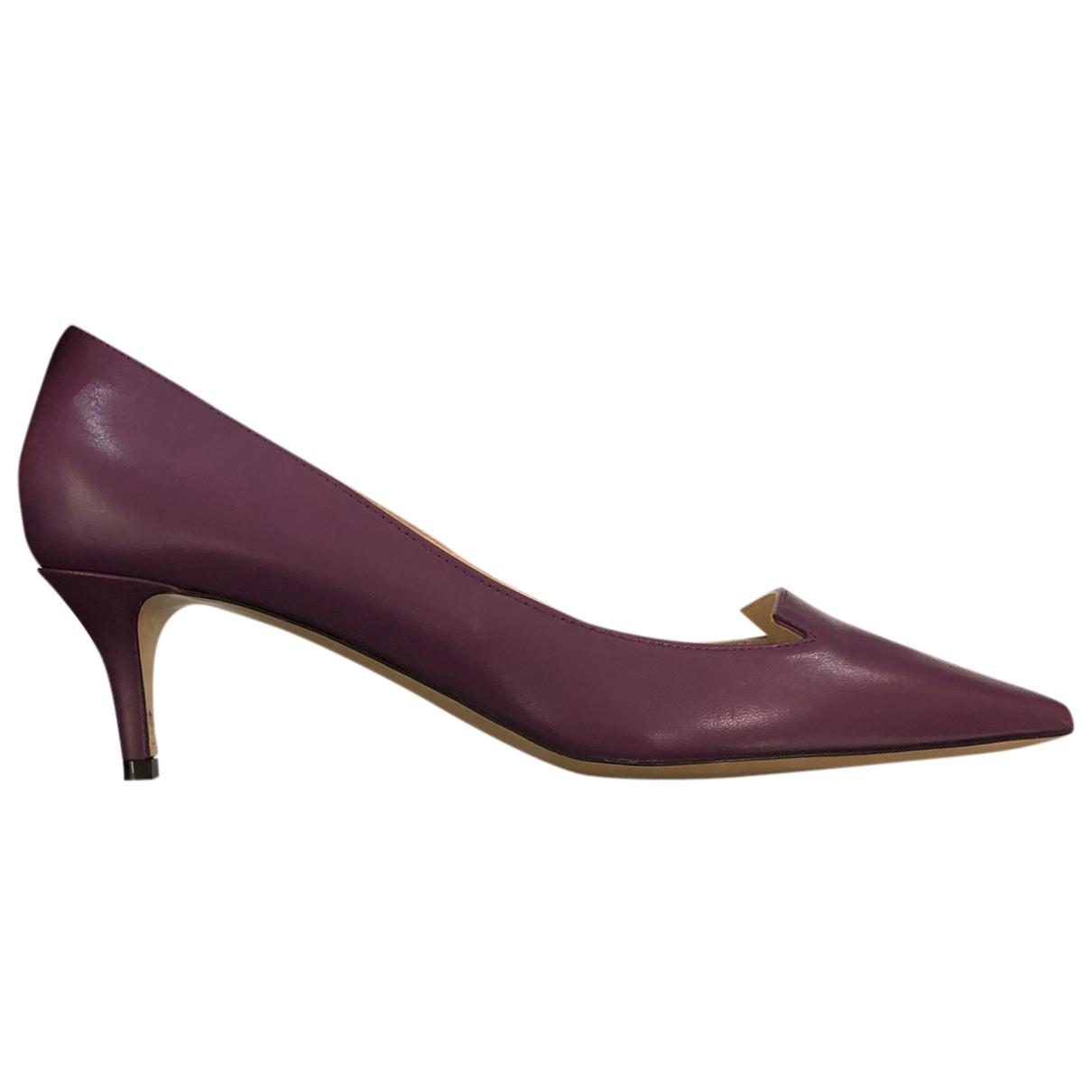 Jimmy Choo N Leather Heels for Women 38 EU