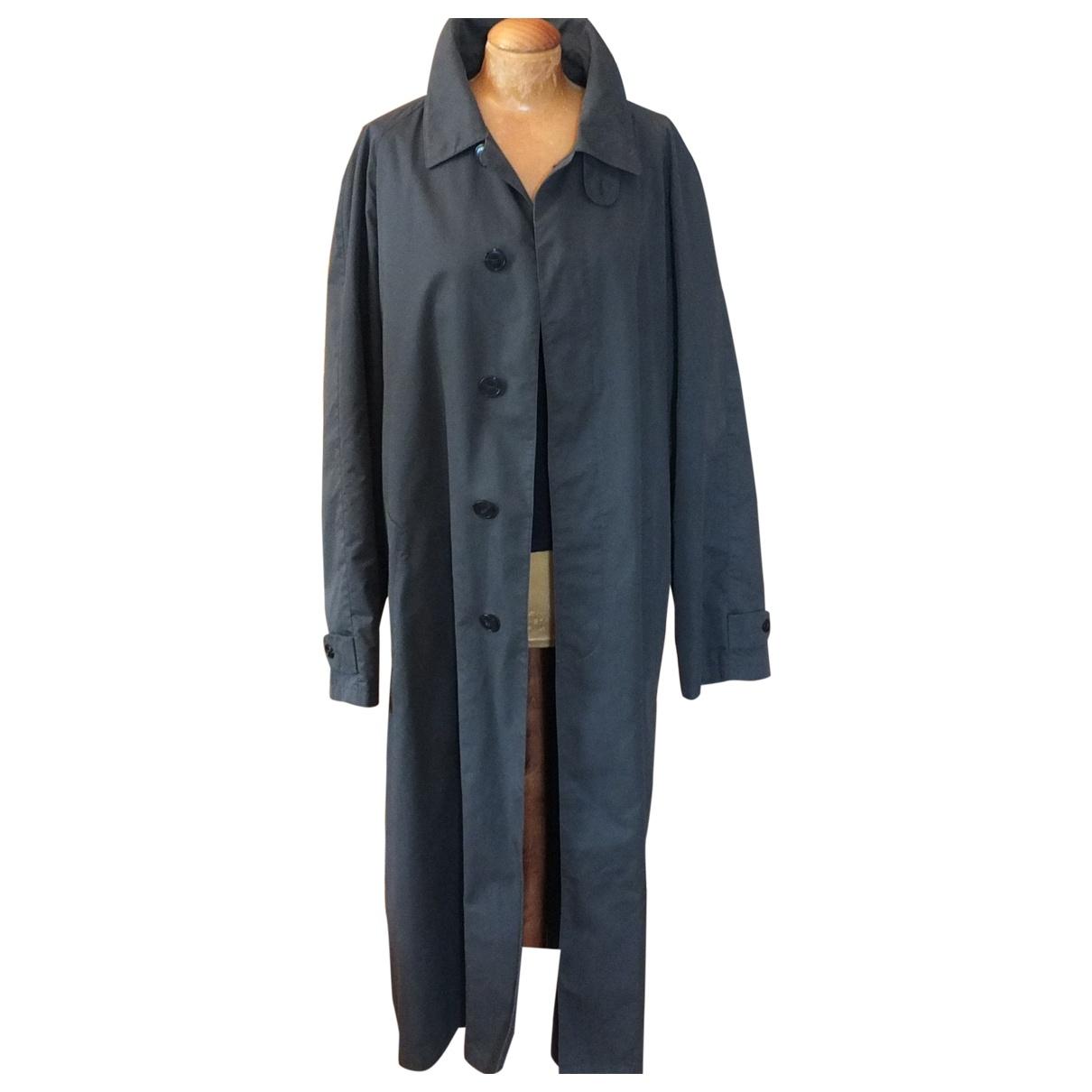Giorgio Armani - Manteau   pour homme en coton - gris