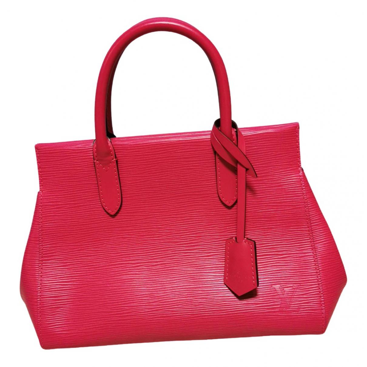 Louis Vuitton Marly Handtasche in  Rosa Leder