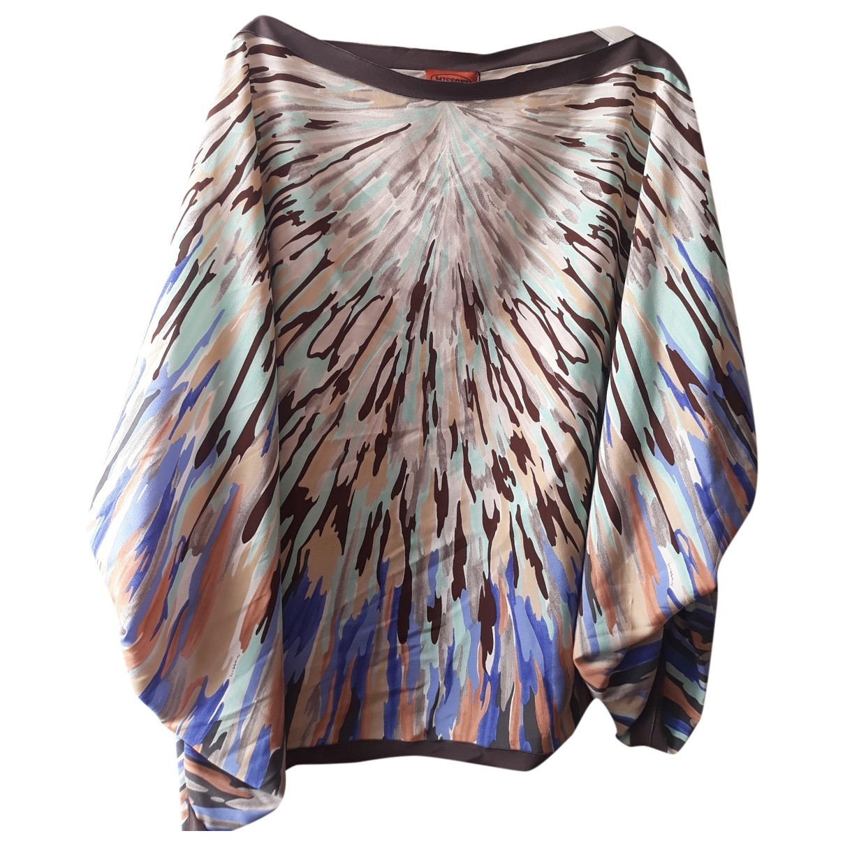 Missoni \N Multicolour Silk  top for Women 38 IT
