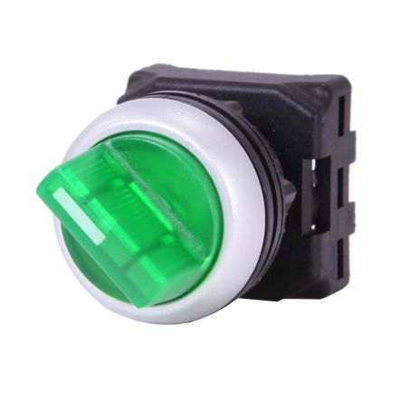 RS PRO Illuminated Selector Switch Head - 2 Position, Spring Return, 22mm cutout