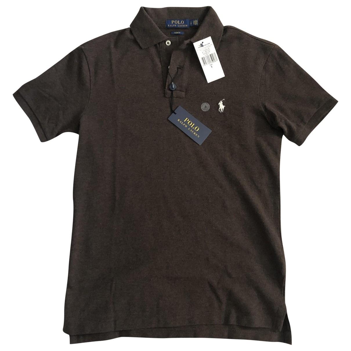 Polo Ralph Lauren \N Poloshirts in  Braun Baumwolle