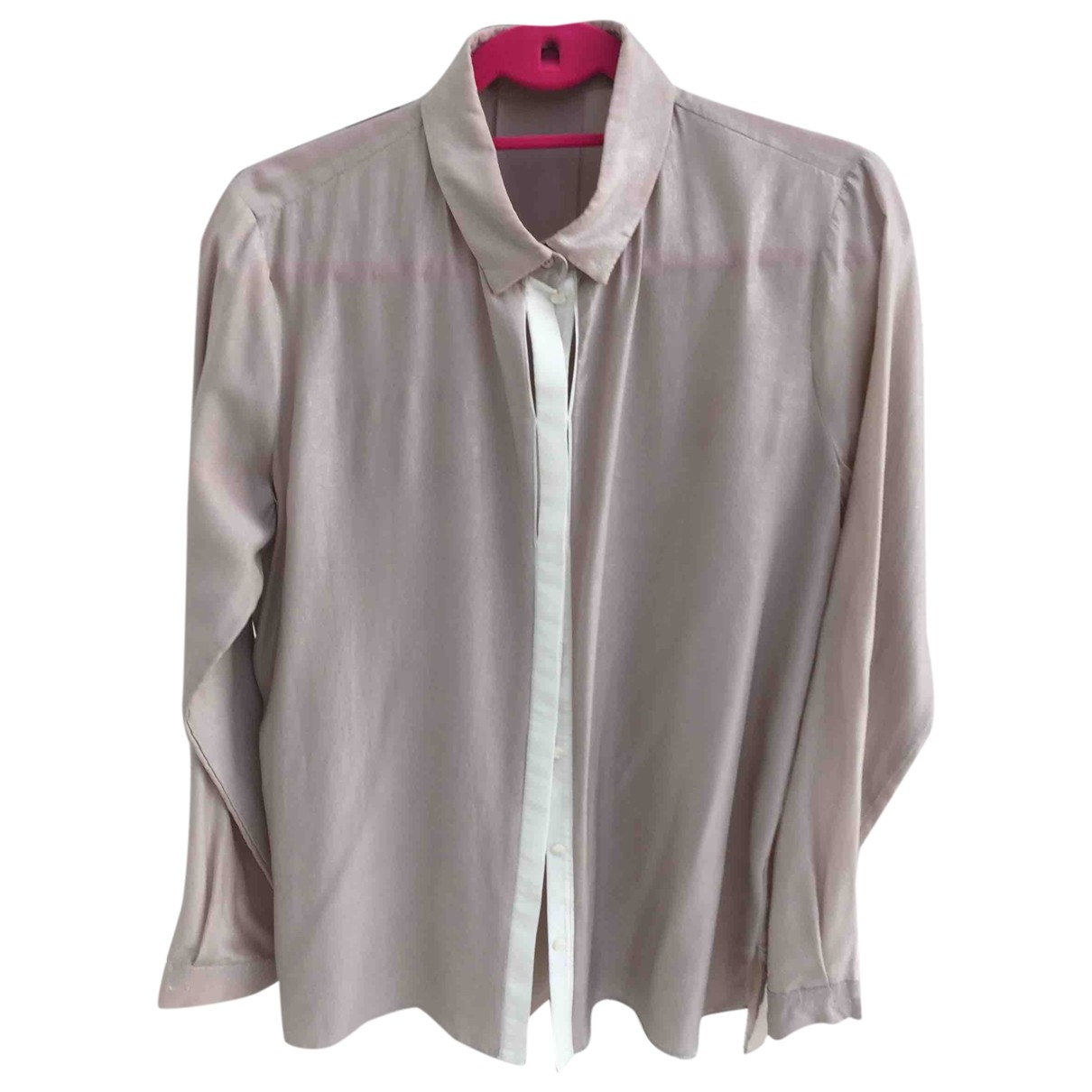 Schumacher \N Pink Silk  top for Women 000 0-5